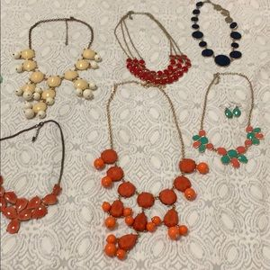 BUNDLE TEN STATEMENT NECKLACES